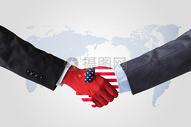 中美合作图片