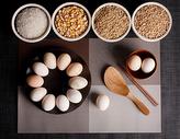 农家粮食土鸡蛋图片