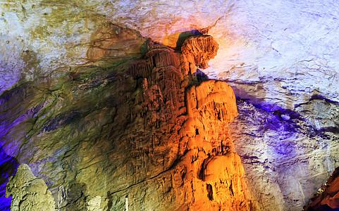 织金洞水母墙图片