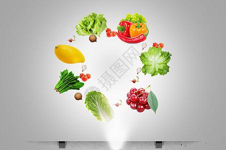 创意健康饮食图片