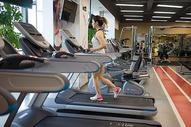健身房运动锻炼图片