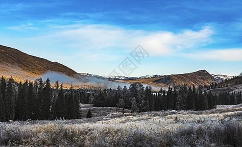 北疆第一场雪图片