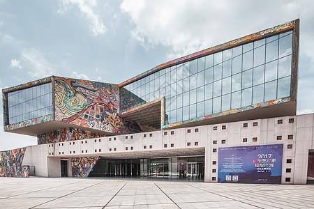川美美术馆建筑外部图片