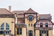 青岛德国古式建筑图片