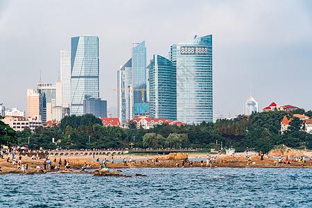 青岛海边建筑图片