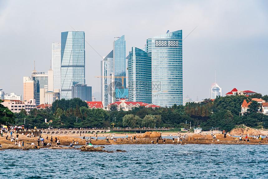 青岛海边建筑