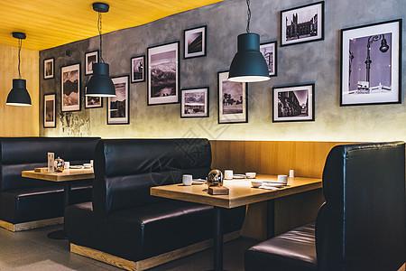 中式餐厅室内环境图片