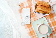 豆浆油条美味早餐图片