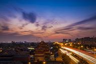 北京雍和宫夜景图片