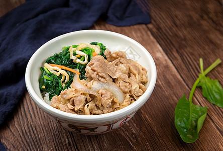 日式牛丼饭图片