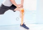 腿部关节疼痛医疗图片