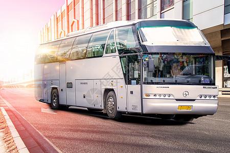 公路客车运输图片