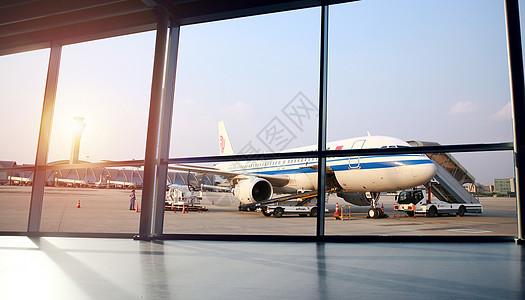 机场大厅背景图片