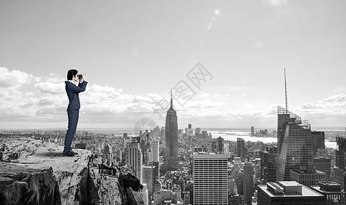 观望楼市图片