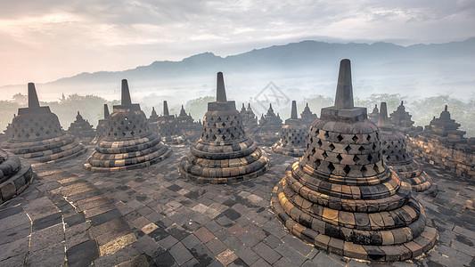 婆罗浮屠图片