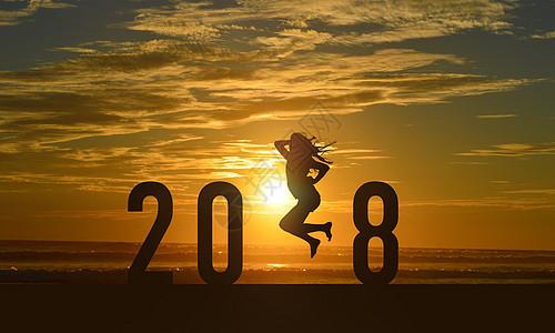 2018日落图片