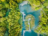 上海秋季自然风景航拍图片