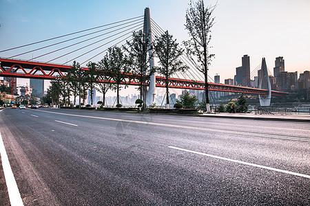 城市汽车道路背景图片