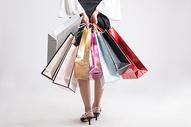女性手提购物袋图片