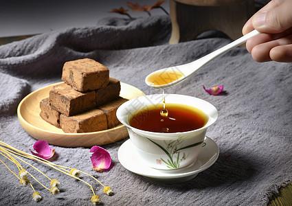 红糖姜茶图片