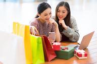 女性商业中心购物500731552图片