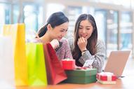 女性商业中心购物500731561图片
