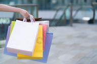 商场手提购物袋图片