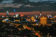 武汉地标建筑黄鹤楼图片