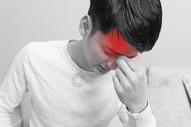 头痛表情图片