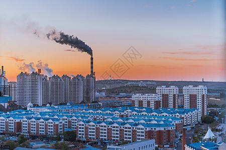 呼伦贝尔城市景观图片