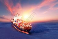海上物流运输图片