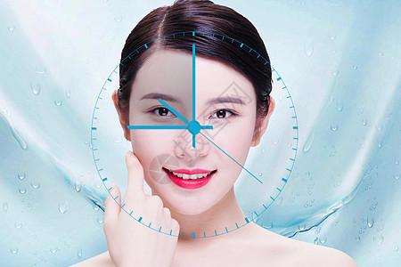 皮肤抗衰老图片
