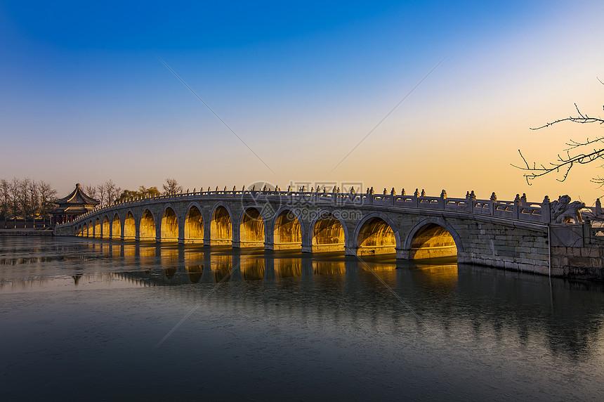 日照十七孔桥图片