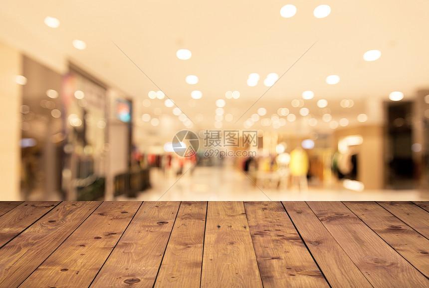 桌面商场背景图片