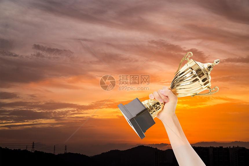 获奖奖杯图片