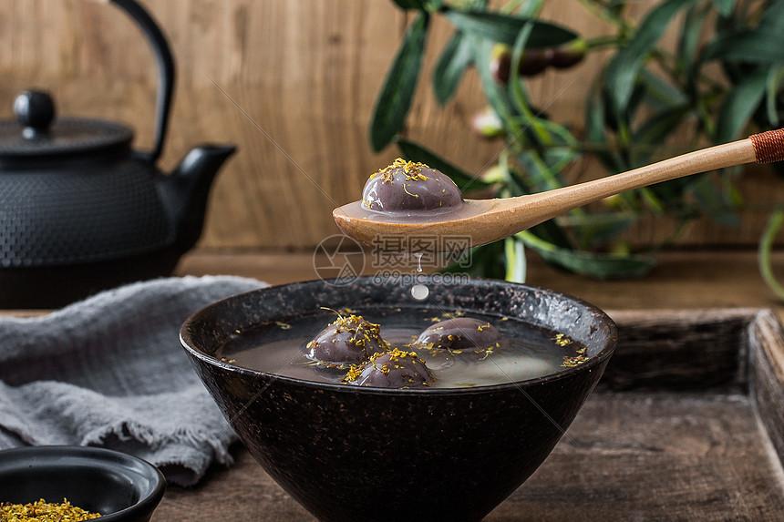 桂花汤圆元宵图片