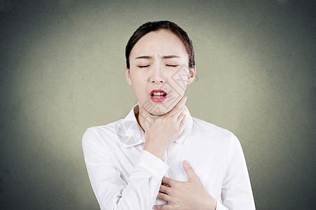 哮喘发作图片