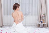 美容养生美女背部展示500734913图片