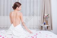 美容养生美女背部展示500734916图片