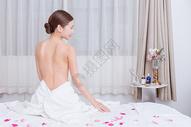 美容养生美女背部展示500734917图片