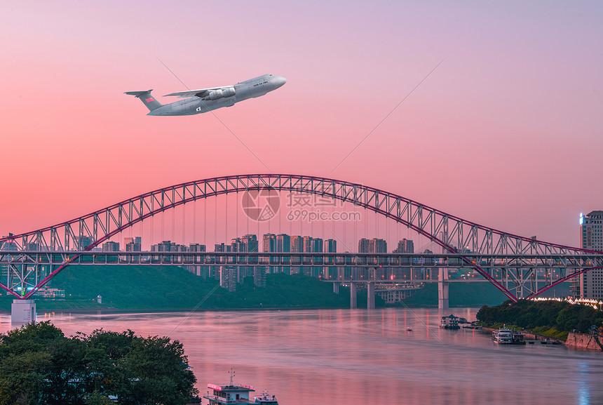 航空贸易运输图片