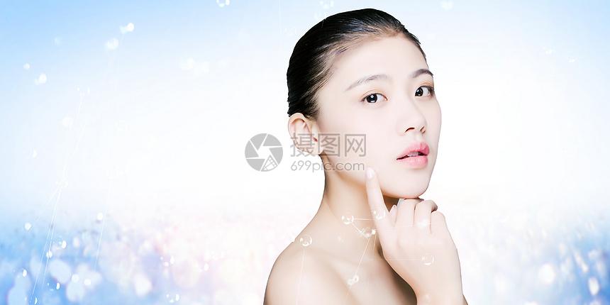 女性皮肤美容图片