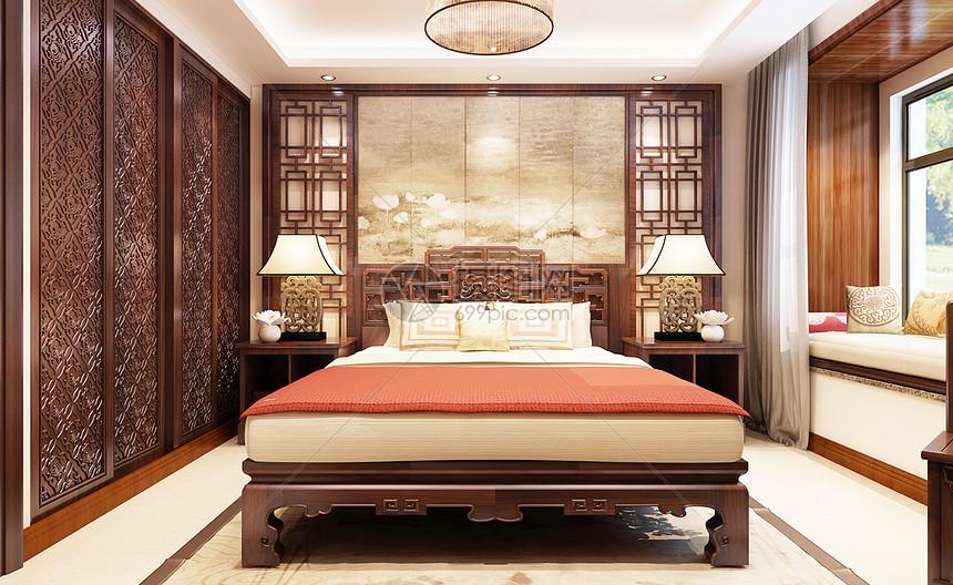 中式家居背景图片