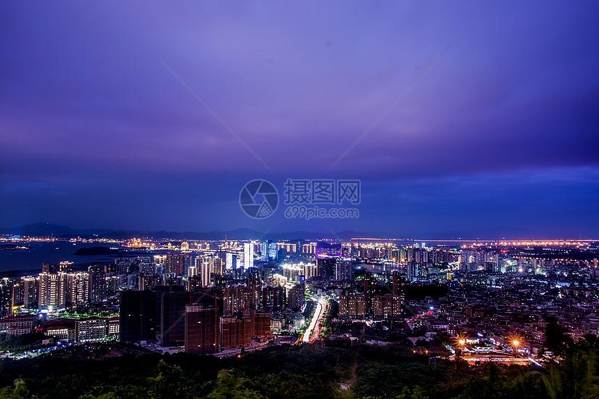 海沧城市夜景图片