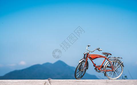 骑行自行车模型图片