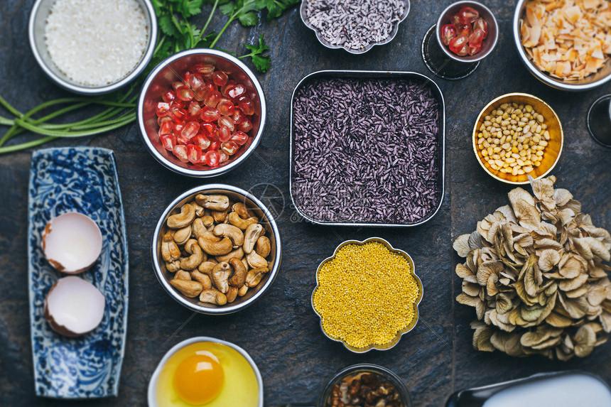 食材素材平面组合图片