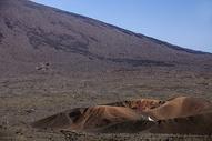 火山上的婚纱照图片