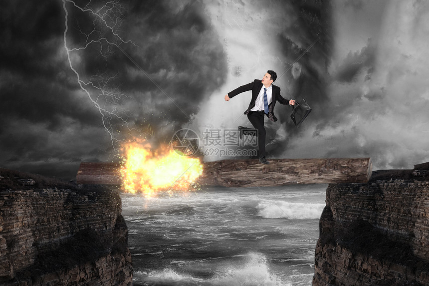 职场危机概念图图片