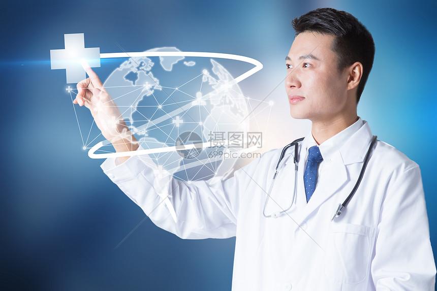 点击现代医疗接口的医生图片