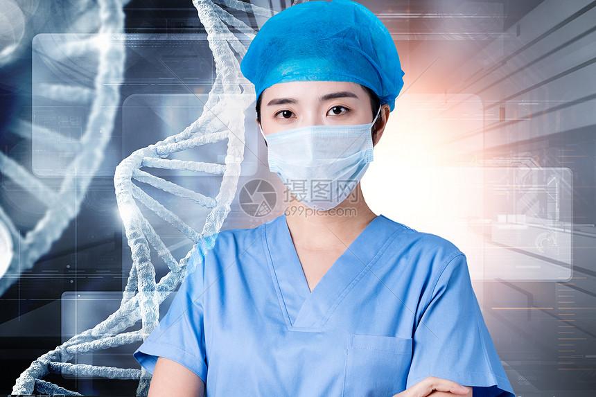 未来医学概念图片